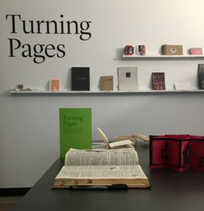 interim gallery books on shelf